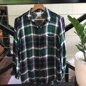 Like New Old Navy Plaid Shirt